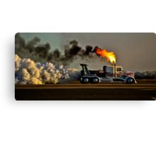 Smokey Display Canvas Print