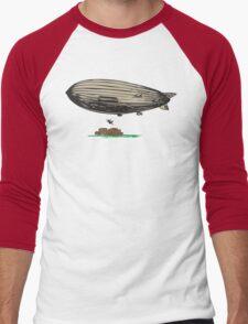 "Indiana Jones ""no ticket"" Men's Baseball ¾ T-Shirt"