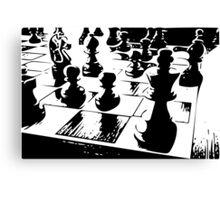 Chess gamer Canvas Print