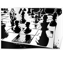 Chess gamer Poster