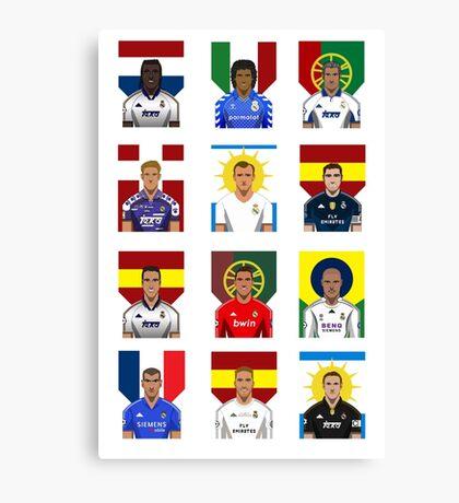 Real Madrid Legends Canvas Print