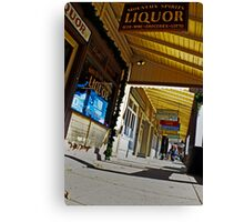 Small Town Glory Canvas Print