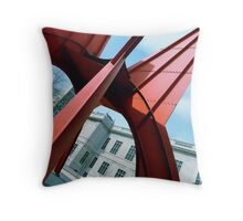 'Stegosaurus' Sculpture Throw Pillow