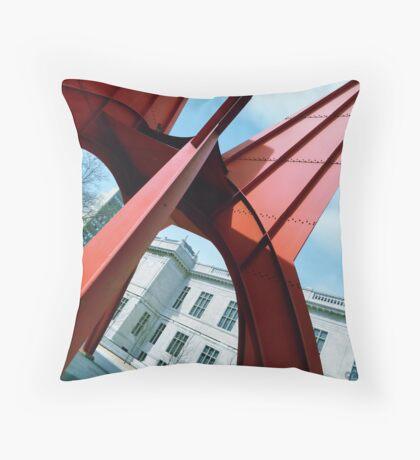 'Stegosaurus' Sculpture Throw Pillow