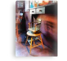 Vintage Child's Barber Chair Canvas Print