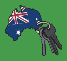 Keys to Australia  Kids Tee