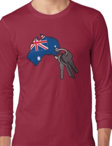 Keys to Australia  Long Sleeve T-Shirt