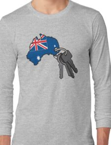 Keys to Australia  Long Sleeve T-Shirt