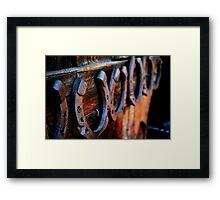 Horse Business Framed Print
