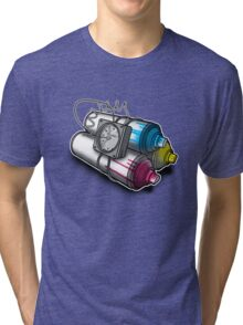 Graffiti Bombing Tri-blend T-Shirt