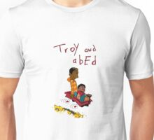 Troy and Abed ride together Unisex T-Shirt