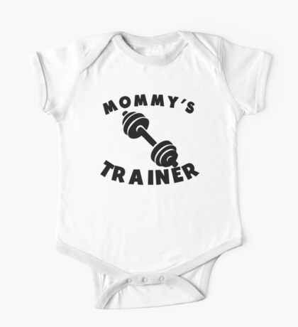 Mommy's Trainer One Piece - Short Sleeve