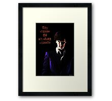 The return of Sherlock Holmes Framed Print
