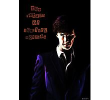 The return of Sherlock Holmes Photographic Print