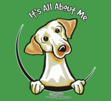 Yellow Lab :: Its All About Me Baby Tee