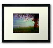 Whispering Tree Framed Print