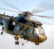 Sea King Helicopter Sticker