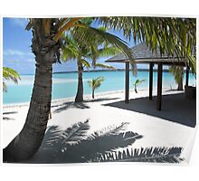 Cook Islands shadows Poster