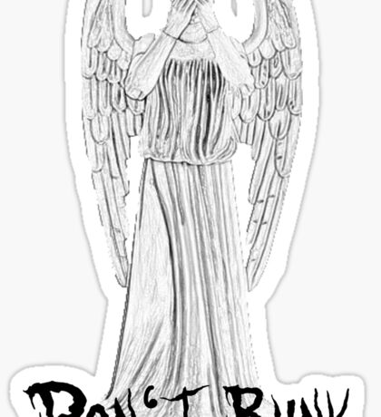 Don't Blink - DW Weeping Angels Sticker