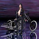 Biker Babe by Tanya Newman