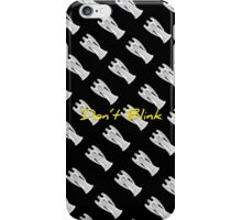 DW Weeping Angels - DON'T BLINK iPhone Case/Skin
