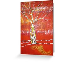 Spirit Boab Greeting Card