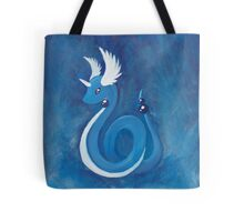 Pokemon Painting - Dragonair Tote Bag