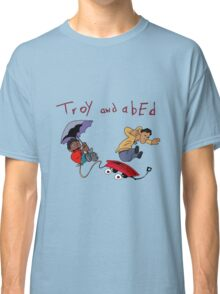 Troy and Abed Falling Classic T-Shirt