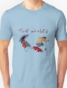 Troy and Abed Falling T-Shirt