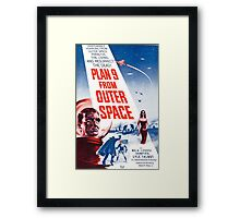 B Movie: Plan 9 from Outer Space Framed Print