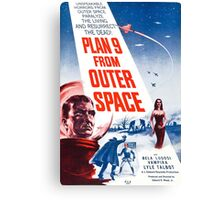 B Movie: Plan 9 from Outer Space Canvas Print