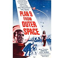 B Movie: Plan 9 from Outer Space Photographic Print