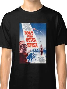 B Movie: Plan 9 from Outer Space Classic T-Shirt