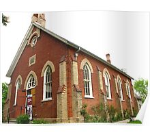 Little Church on the hill Poster