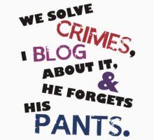 We Solve Crimes by IggyMarauder