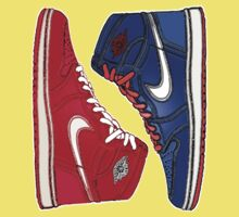 AIR JORDAN 1 RETRO: RED MEETS BLUE Kids Clothes