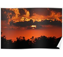 Sunset In Southeast Missouri Poster