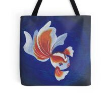 Pokemon Painting - Goldeen Tote Bag