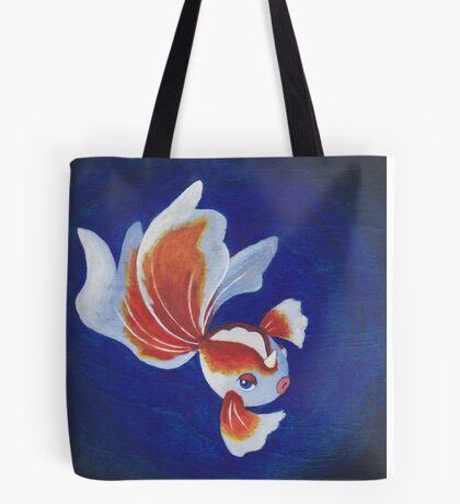 Pokemon Painting - Goldeen Tote Bag