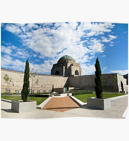 garden Australia war memorial Poster