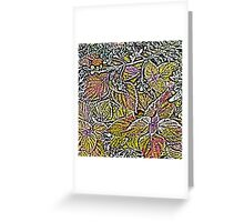 Leaves #7d Greeting Card