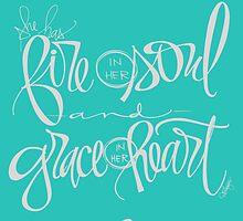 Fire & Grace - MINT by ebdesignslove