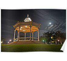 Elder Park Rotunda and Easter Moon Poster