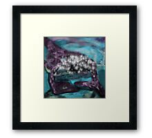 A Time and Space Framed Print