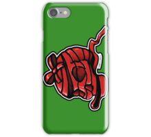 Red Ribbon Skull iPhone Case/Skin