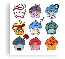 Adventurous Cupcakes Canvas Print