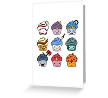Adventurous Cupcakes Greeting Card