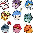 Adventurous Cupcakes by CartoonGirl