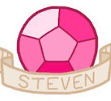 Steven Universe- Steven Gem Sticker by sbear4000
