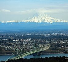 Tacoma Narrows To The Mountain by starlitewonder